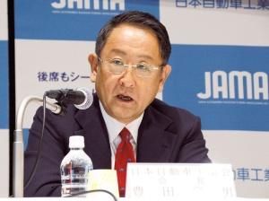 JAMA会長の豊田章男氏