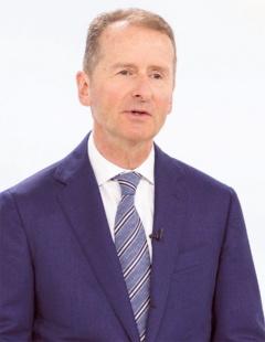 Volkswagen社長のヘルベルト・ディース氏