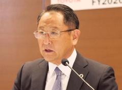 トヨタ自動車社長の豊田章男氏