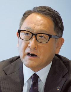 自工会会長の豊田章男氏
