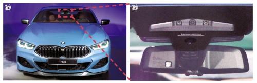 図1 BMWの3眼カメラ
