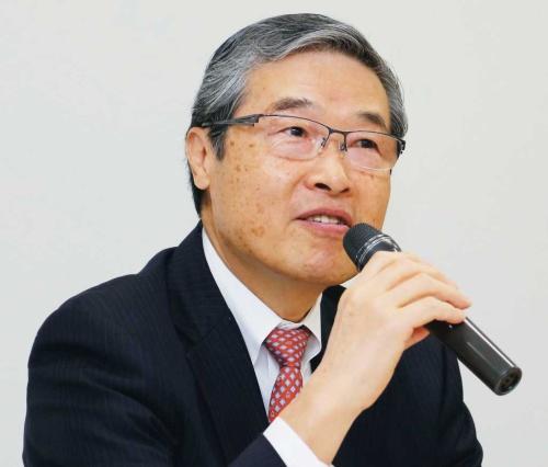 図 日本自動車部品工業会会長の岡野教忠氏