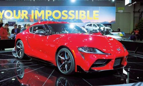 図1 トヨタ自動車の新型「スープラ」