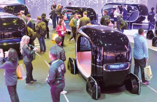 図1 Kia Motorsが開発したMaaS向けの自動運転EV