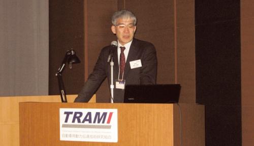 図1 TRAMI理事長の前田氏