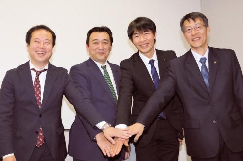 図1 発表会に登壇した各社の担当者