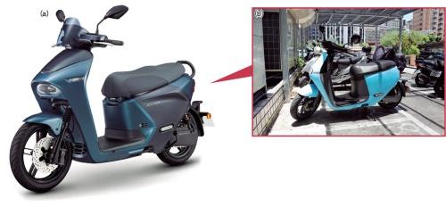 図1 ヤマハ発動機は電池交換式EVスクーターに参入する