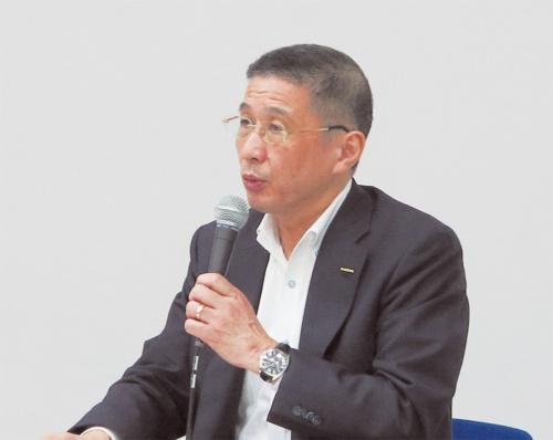 図1 早期辞任に追い込まれた西川広人氏