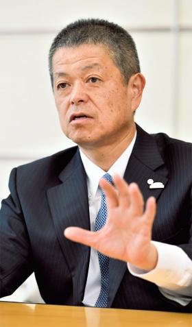 図 トヨタ自動車パワートレーンカンパニーPresidentの岸宏尚氏