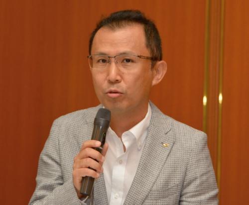 図3 新型タントのチーフエンジニアの田代正俊氏