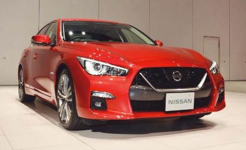 図 日産自動車が2019年9月に発売した新型セダン「スカイライン」