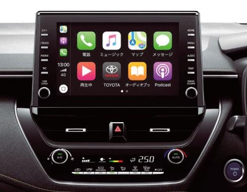 図1 トヨタ自動車が新型カローラに標準装備としたディスプレーオーディオ