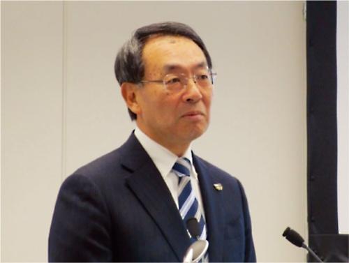 図1 パナソニック 代表取締役社長の津賀一宏氏