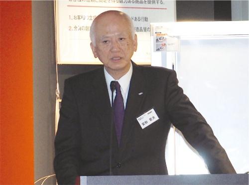 図1 ジェイテクト社長の安形哲夫氏