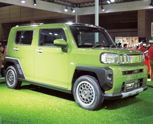 図1 軽SUV「タフト」のコンセプト車