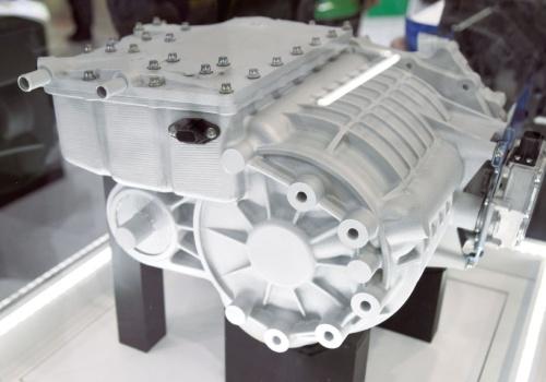 図2 日本電産のEV用駆動モーター