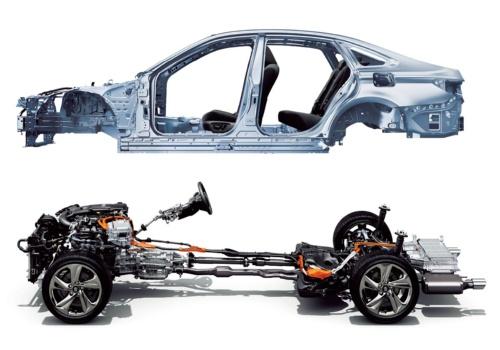 図2 トヨタのFRプラットフォーム「GA-L」