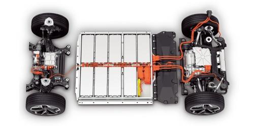 図2 Volkswagenの新型EVにはアジア製電池