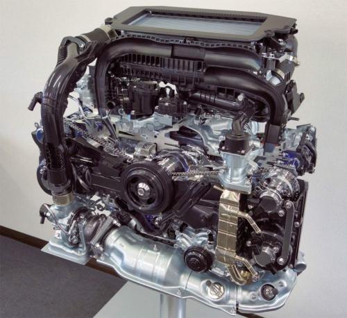 図2 スバルがリーンバーンを実現した新型直噴ターボエンジン