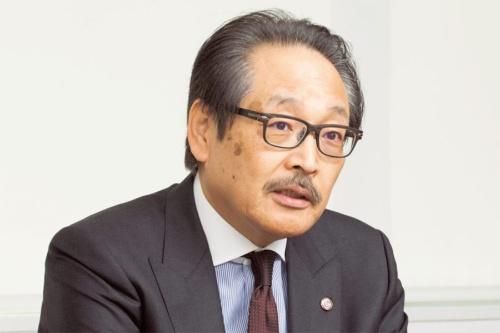 図2 マツダ副社長執行役員の藤原清志氏