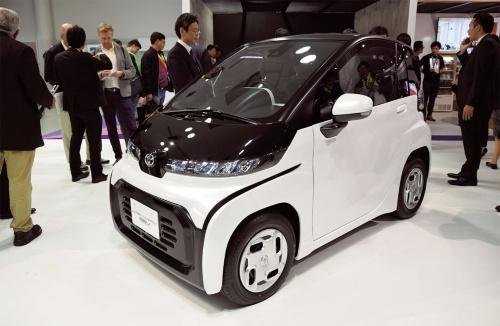 図1 超小型EVの市販予定車