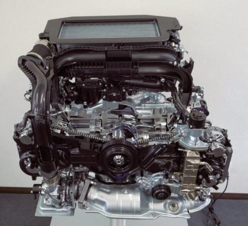 図1 「レヴォーグ」に搭載した新型水平対向(ボクサー)ガソリンエンジン