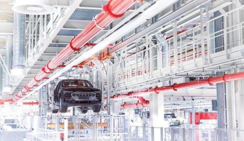 図1 2018年から電気自動車を生産するベルギー・ブリュッセル工場