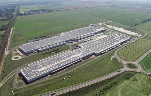 図2 ハンガリーの工場