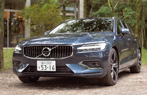 図1 Volvoの新型ワゴン「V60」