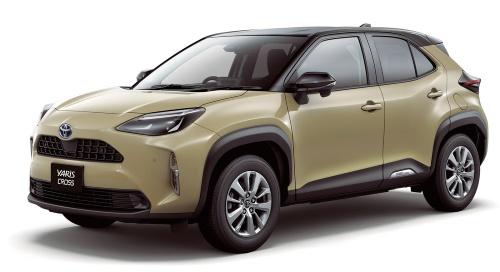 図1 小型SUVの新型車「ヤリスクロス」