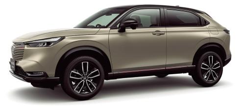 図1 ホンダが21年4月に発売した小型SUV「ヴェゼル」