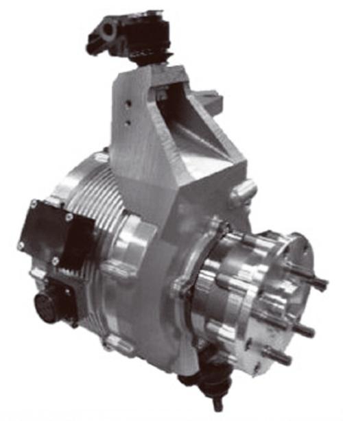 図1 NSKが試作したイン・ホイール・モーター