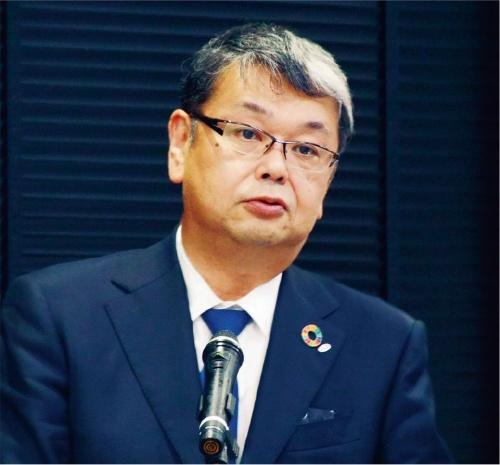図1 デンソー経営役員の松井靖氏