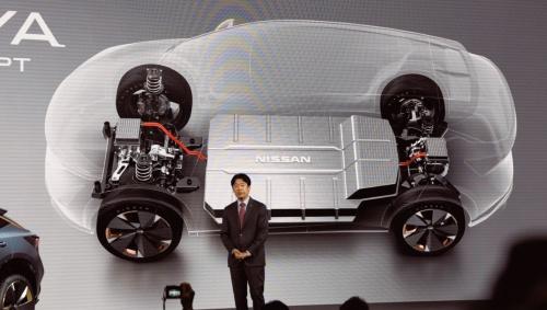 図2 日産の新EV専用プラットフォーム