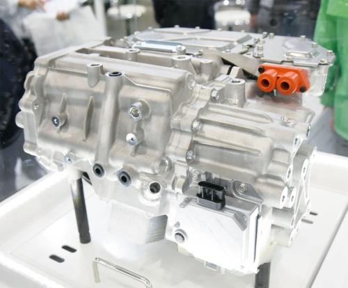 図1 日本電産が量産中のEV向け駆動モーター