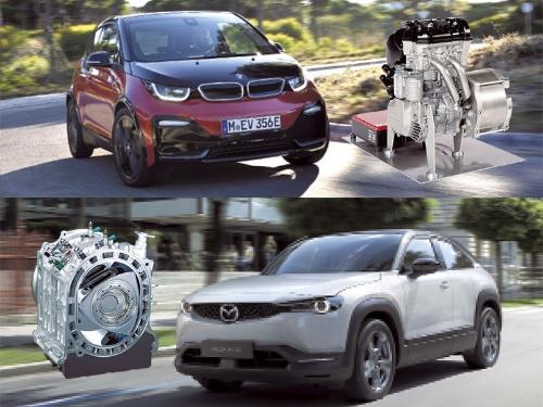 写真:BMW、BRP-Rotax、マツダ