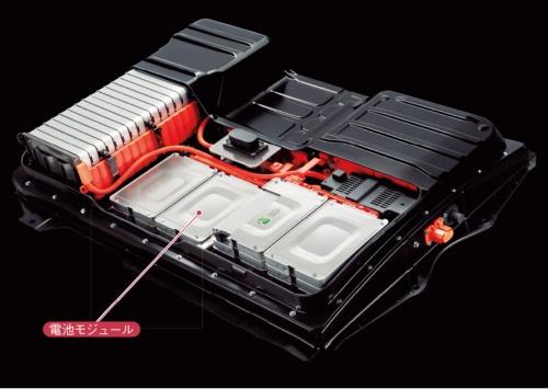 図2 初代リーフの電池パック