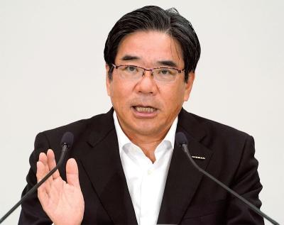 図2 日産自動車副社長の坂本秀行氏