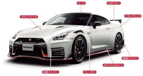 図3 高級スポーツ車の「GT-R NISMO」