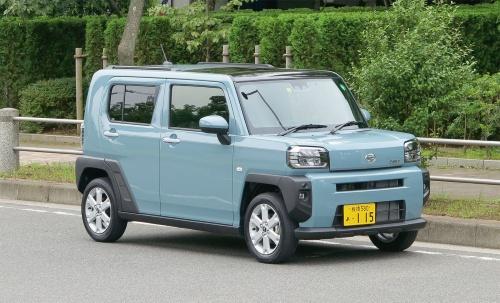 図1 軽SUVの新型「タフト」