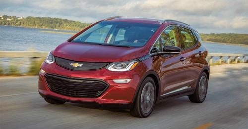 図1 電池発火でリコールを発表したGMのEV「Chevrolet Bolt EV」