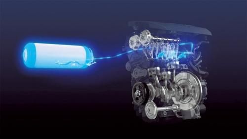 図1 トヨタが開発中の水素エンジンのイメージ