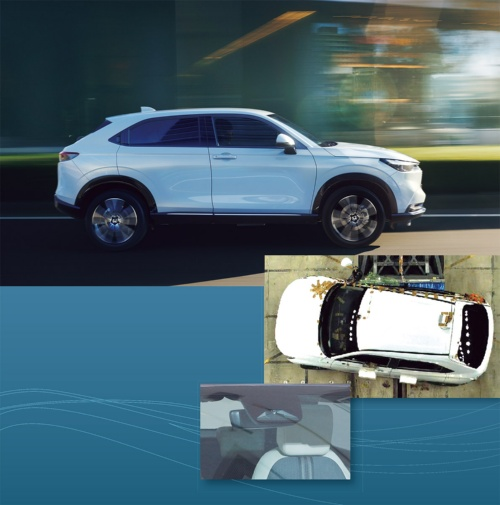 写真:上と中はホンダ提供、下は日経Automotiveが撮影