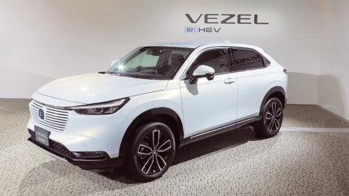 図1 小型SUVの新型「ヴェゼル」