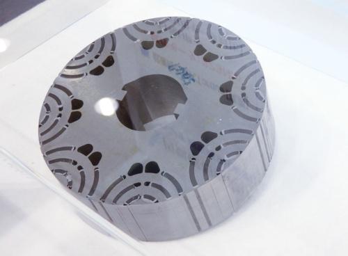 図3 大同特殊鋼のモーター用ローターコア