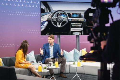 図3 ダイムラーは「Mercedes me media」で新型車やコンセプトカーを発表