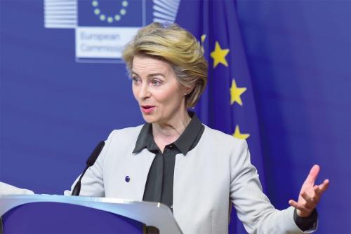 欧州グリーンディールを発表した欧州委員長のUrsula von der Leyen氏