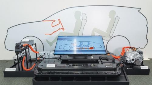 図1 開発中の中型EV用プラットフォーム