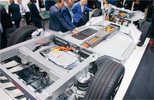 図9 EV用の車体(ローリングシャシー)