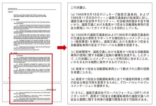 図3 UNECEが発行したレコメンデーション(推奨事項)